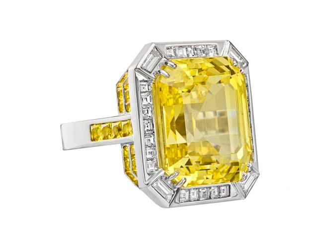 yellow sapphire picture